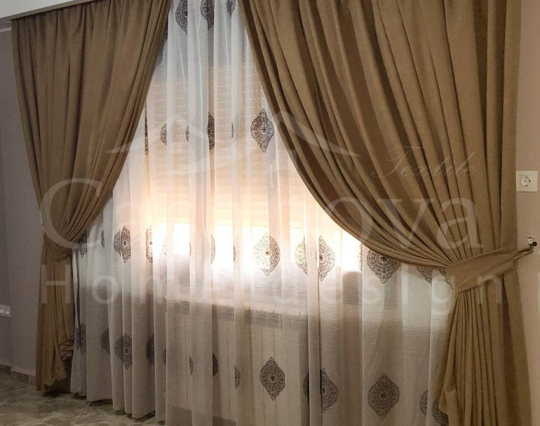 casanova rideau voilage salons
