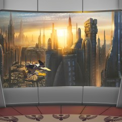8-483 Star Wars Coruscant View