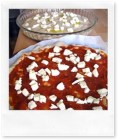Pizza e focaccia di farro al formaggio