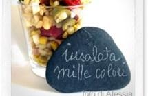 Ricette estive: insalata mille colori di orzo e kamut