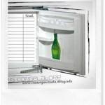 Planning per organizzare il congelatore in due versioni