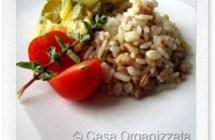 Ricette veloci: Cereali pilaf e zucchine mantecate
