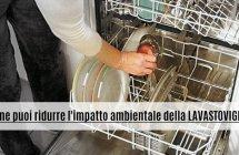 Ridurre l'impatto ambientale della lavastoviglie