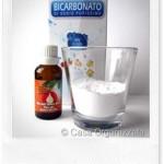 Deodorante per il frigo fai da te con bicarbonato e tea tree