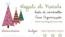 Organizzazione natalizia: lista di controllo per regali