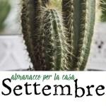 Almanacco di Settembre per la casa