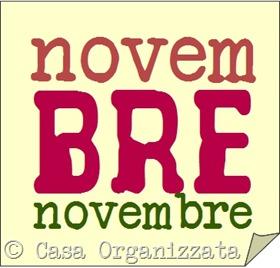 Almanacco di Novembre per la casa