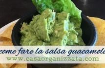 Ricette veloci: come fare la salsa Guacamole