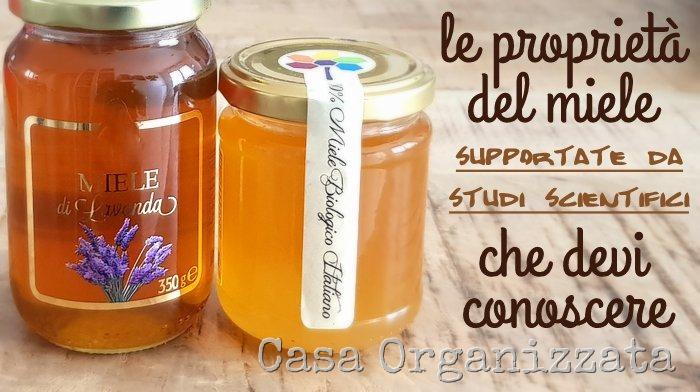 proprietà del miele supportate da studi scientifici