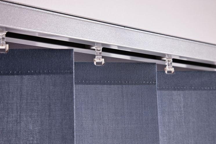 Bastoni per tende moderni,binari per tende a pacchetto,a pannello,sistemi per tende scorrevoli,bastoni per tendaggi in acciaio,alluminio,ferro,riloghe. Binari Per Tende A Pannello Tende Da Interni Varie Tipologie Di Binari Per Tende A Pannello