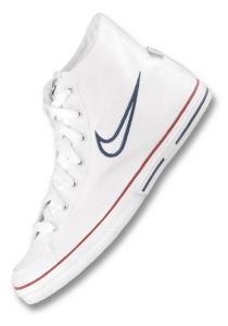 Nike Carpi Canvas Mid color blanco
