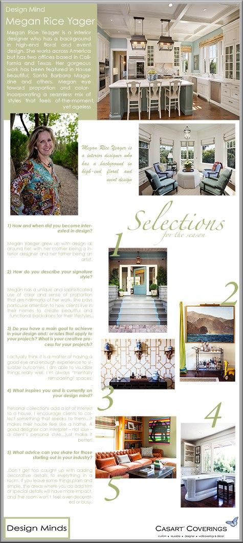 Megan Yager\'s Top Ten Designer Tips