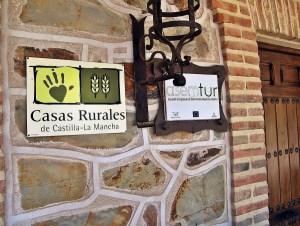 CASA RURAL LAS BECERRAS PUERTA DE ENTRADA