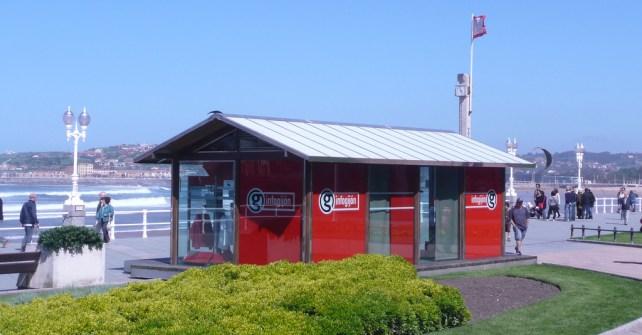 Oficina de Turismo InfoGijón en La Escalerona