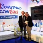 Bevilacqua e La Piana a Casa Sanremo Writers