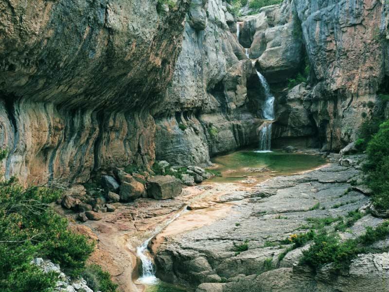 Sierra And Guara Canyons Natural Park Huesca Spain