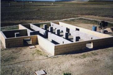 bases de casas de madera