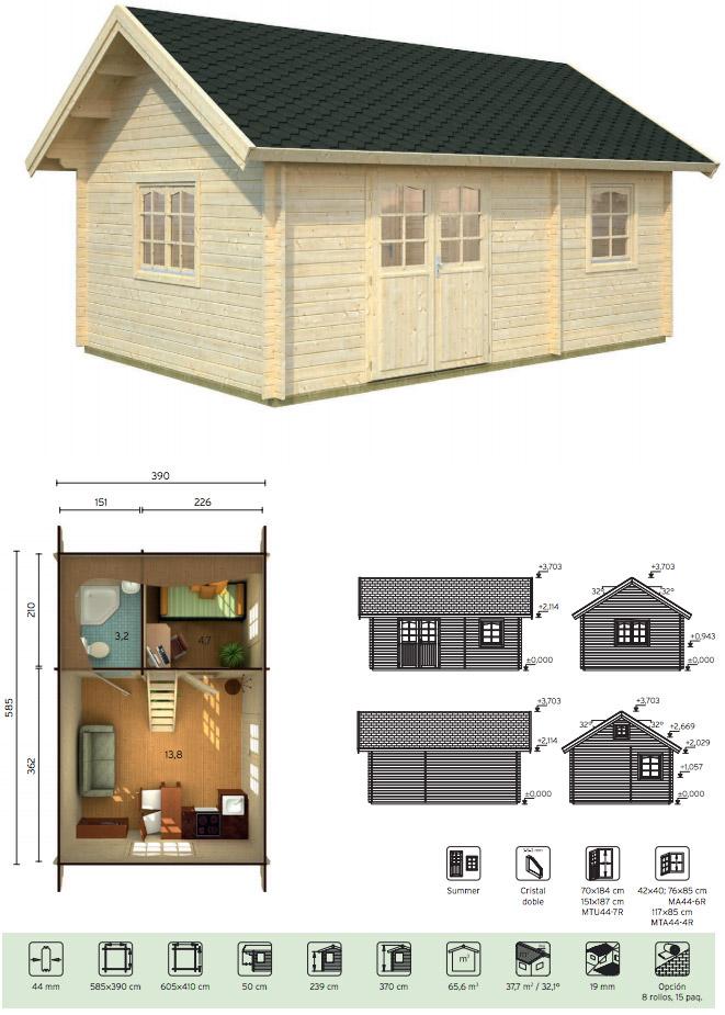 casas de madera baratas nicole