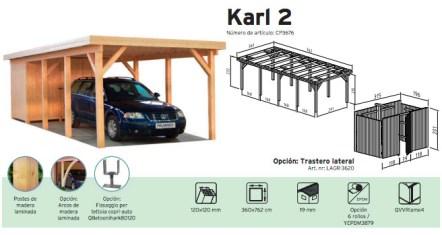 porche de madera karl 2