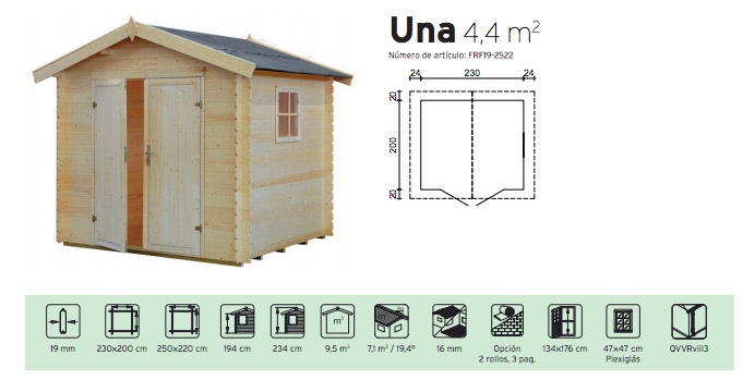 Cobertizos de jardin free casetas de madera cobertizos de for Cobertizos segunda mano