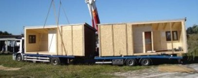 Trasladar una casa de madera