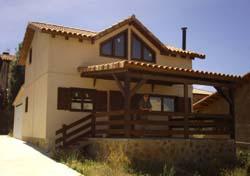 casas de madera a medida modelo Orea