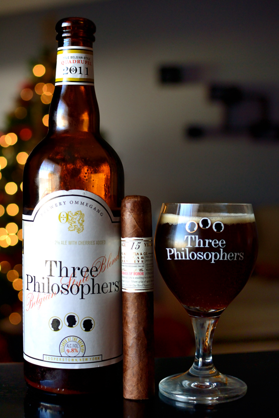 Gurkha Cellar Reserve with Ommegang Three Philosophers