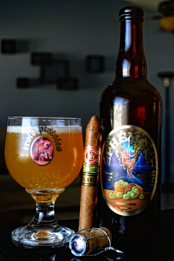 Arturo Fuente Solaris with Unibroue's Ephemere