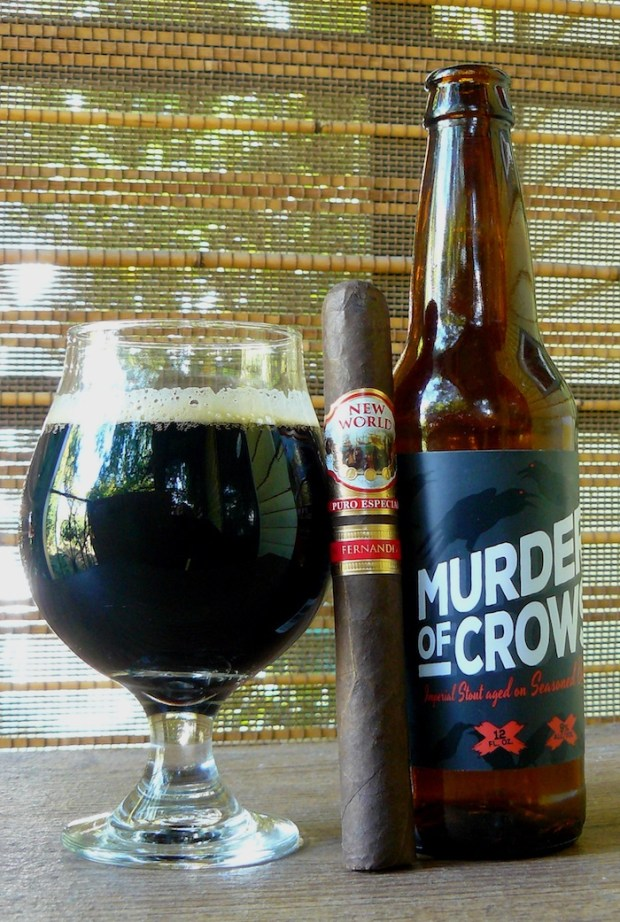 Skookum Brewery Murder of Crows oak aged Imperial Stout