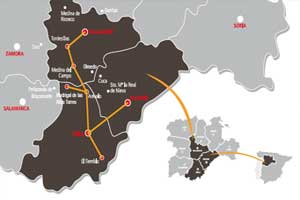 Mapa Ruta Isabel