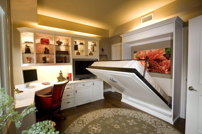 22 καταπληκτικές ιδέες για να αξιοποιήσετε στο έπακρο μικρά δωμάτια