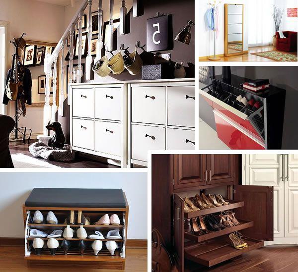 Διακόσμηση με παπουτσοθήκες στο διάδρομο; Πάρε τις πιο όμορφες ιδέες