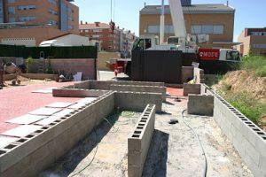 Cimentación vivienda modular