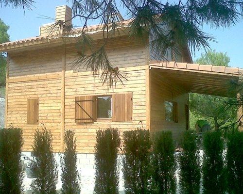 Casa de madera 2 plantas modelo Lorca II
