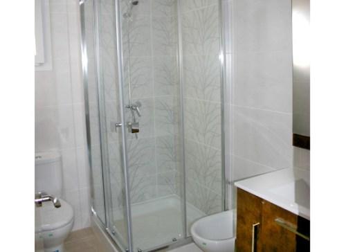 Baño casa de madera
