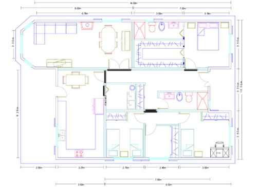 Casa de madera Modelo Mediterraneo