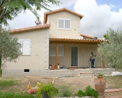 Casa de dos plantas modelo Mediterráneo II