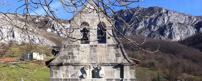 Santuario en Carrea Cebrano, Teverga, Asturias