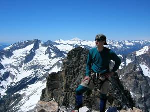Summit of Mount Goode