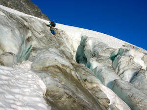 Accessing the Goode Glacier