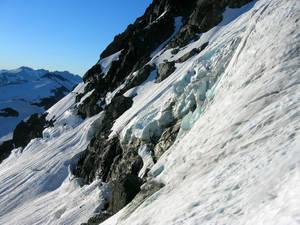 Upper Glacier on the North Face