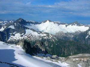 The entire Boston Glacier