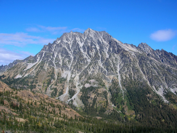 Mount Stuart from Longs Pass