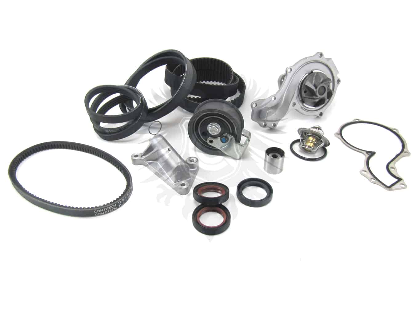 Timing Belt Kit 1 8t Aeb Atw Deluxe Early 97 00