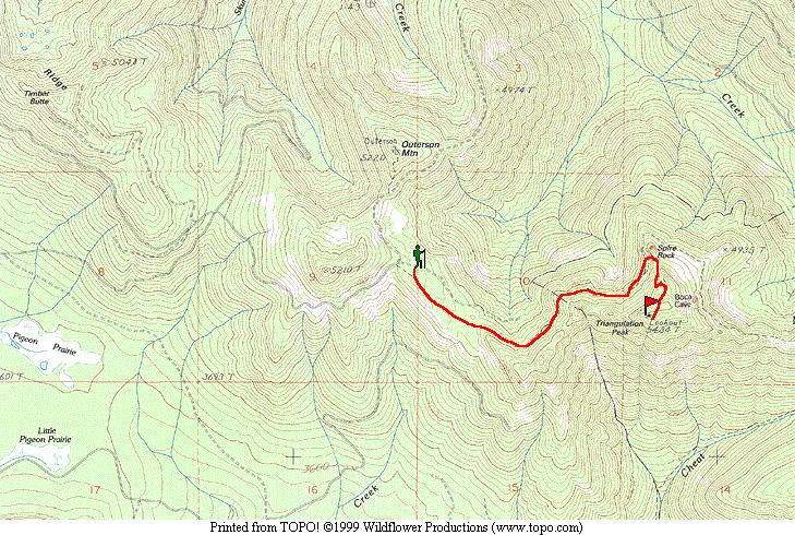 Forest Road Maps Oregon