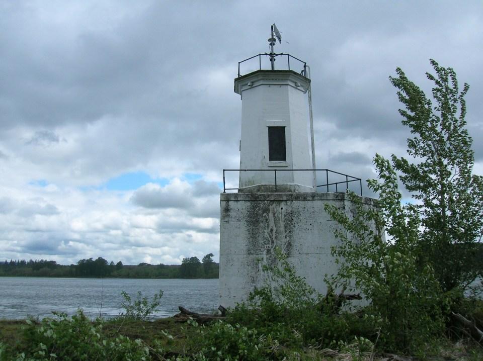 Warrior Rock lighthouse, Sauvie Island, Oregon
