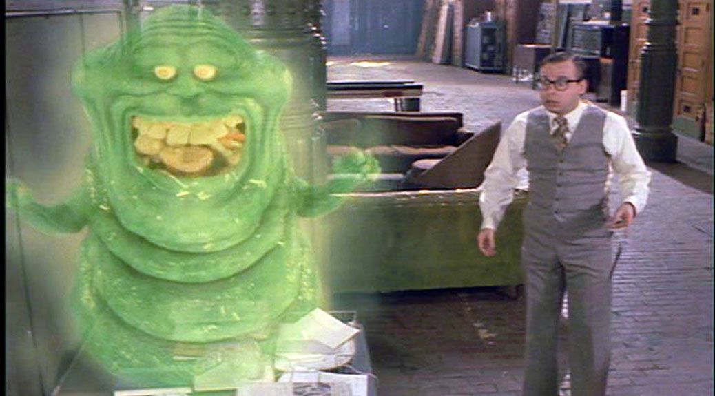 Slimer from Ghostbusters... a distant relative of natto?