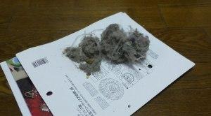 Dust pile