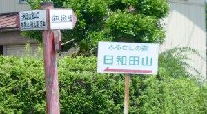 Hiwadayama Street Sign