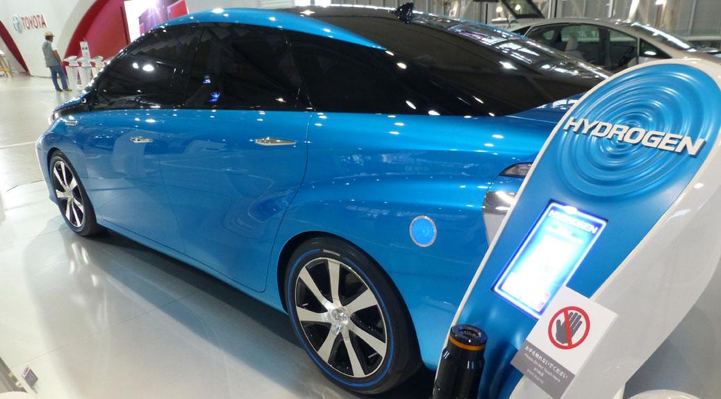 Toyota Hydrogen Car
